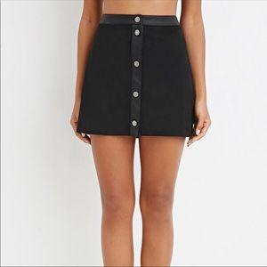 🌸 Forever 21 Women's Velvet Mini Skirt 🌸